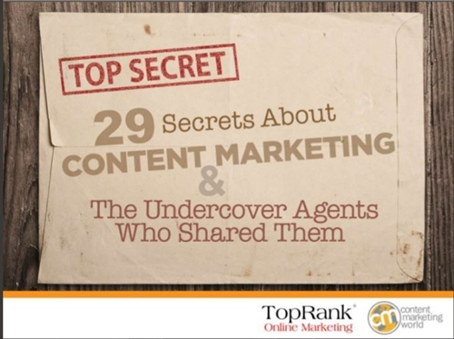 Content Marketing Secrets