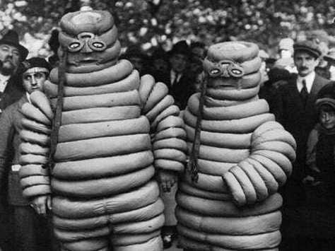 Michelin Men Original Costumes