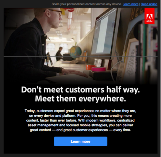 Adobe Email