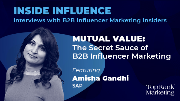 Amisha Gandhi SAP Inside Influence