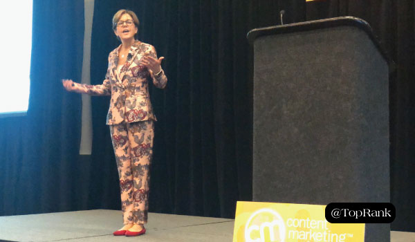 Create a Stellar Audience Experience By Slowing Down with These Tips from Ann Handley #CMWorld