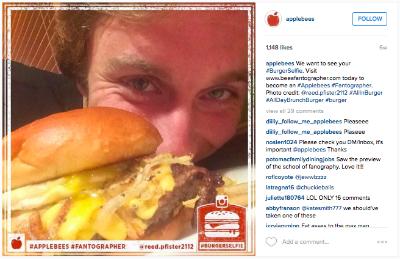 Applebees Instagram