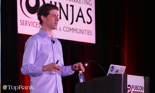 Ben Morss of Google at Pubcon Las Vegas 2018