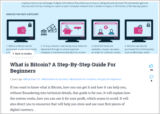 Bitcoin Tutorial Example