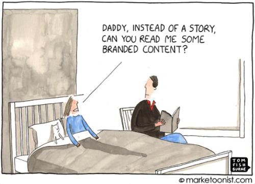 Branded Content Marketoonist