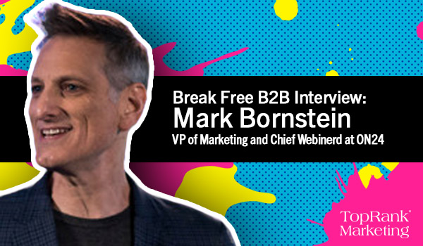 Break Free B2B Marketing Mark Bornstein Image