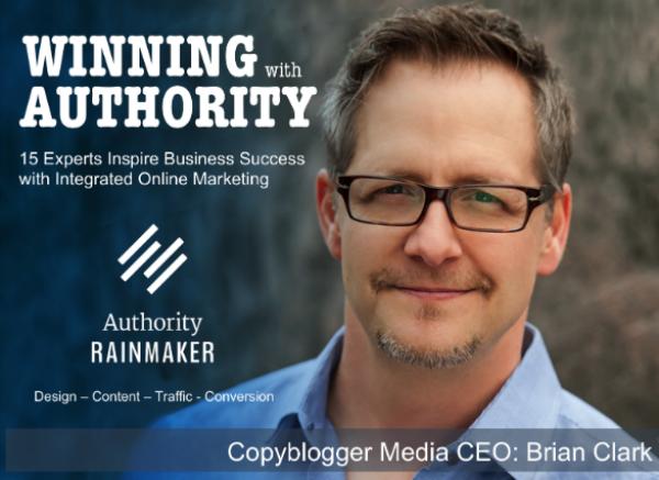 Brian Clark Authority Rainmaker Cover