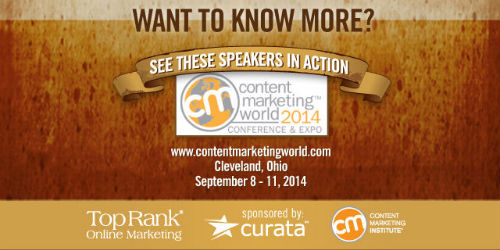 Content Marketing World 2014