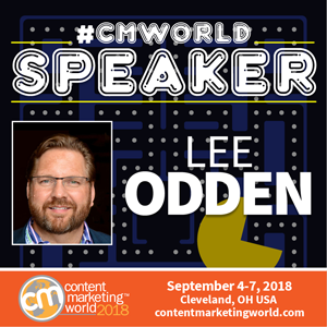 Lee Odden, Content Marketing World 2018 speaker
