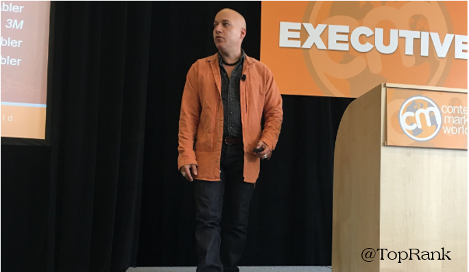 uncategorized-Carlos Abler at CMWorld - Carlos Abler Details How Content Marketing Can Contribute to the Greater Good #CMWorld