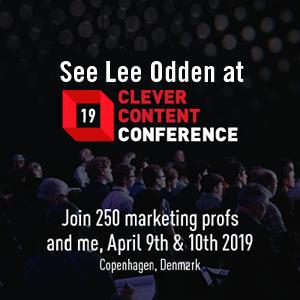 Lee Odden, Clever Content Conference 2019 speaker