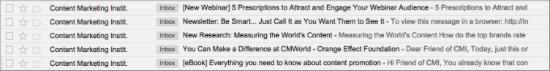 Content Marketing Institute Email Marketing
