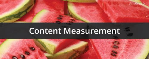 Content-Measurement
