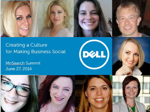 Creating a Culture for Making Business Social - Connie Bensen of Dell - #MNSummit