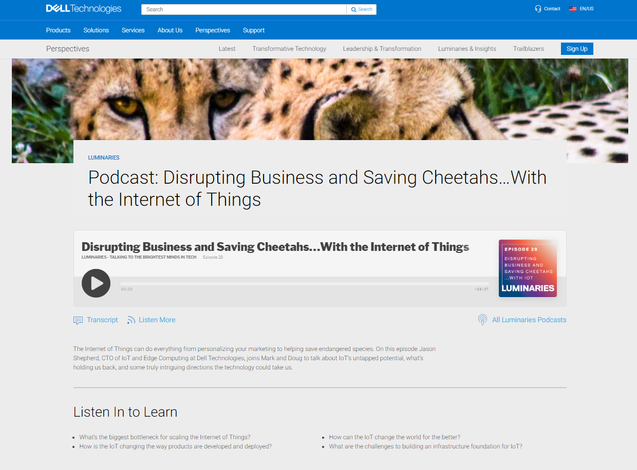 Dell Luminaries Podcast