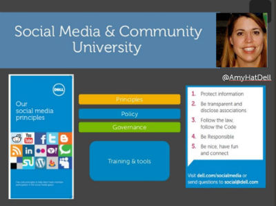 Dell Social Media and Community University