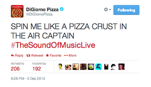 DiGiorno Pizza Tweet