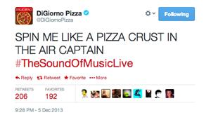 DiGiorno Pizza Tweet
