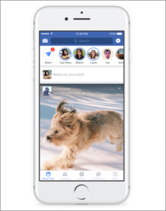Facebook Stories Example