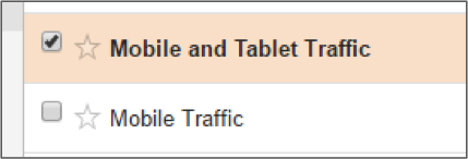 Mobile and Tablet Traffic in Google Analytics