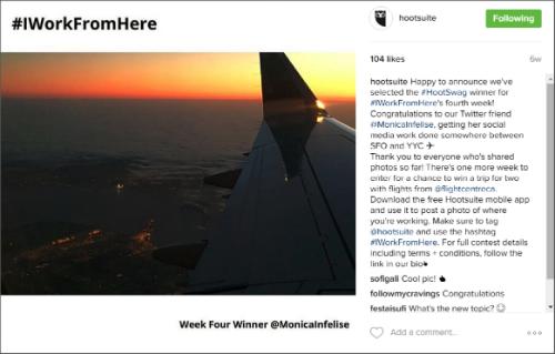 Hootsuite Instagram 3