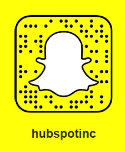 HubSpot Snapchat