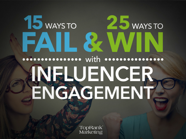 Influencer Engagement - 15 fails and 25 wins