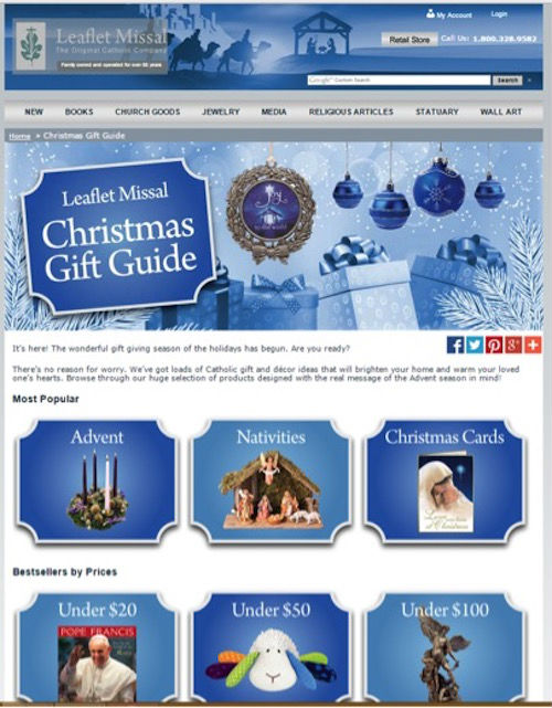 Leaflet Missal Holiday Gift Guide