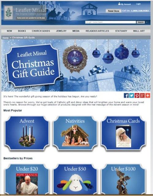 Leaflet Missal Holiday Gift Guide