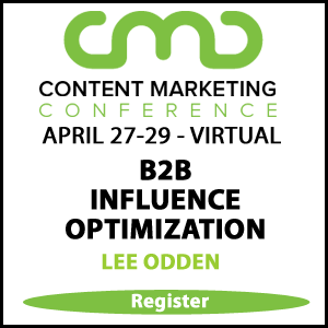 Content Marketing Conference 2021