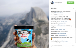 Ben & Jerry's on Instagram