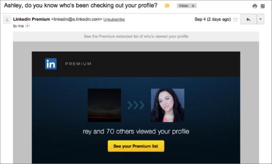 LinkedIn Email Marketing