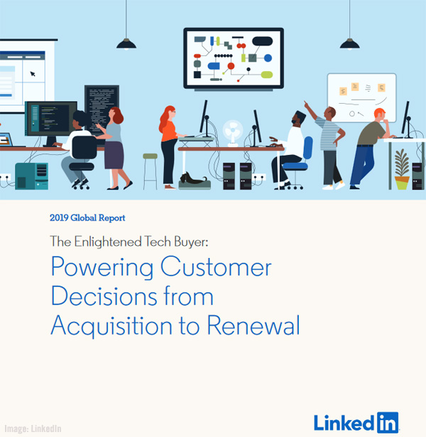LinkedIn The Enlightened Tech Buyer Image