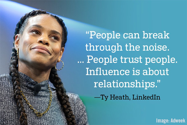 LinkedIn Ty Heath Quote Image