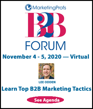 MarketingProfs B2B Forum Online 2020