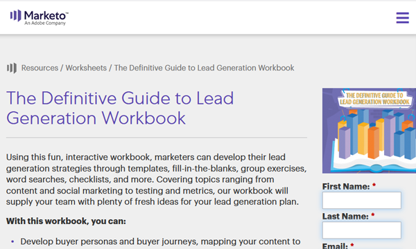 Marketo Lead Generation Screenshot Image