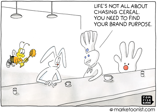 Brand Purpose Tom Fishburne Marketoonist Cartoon