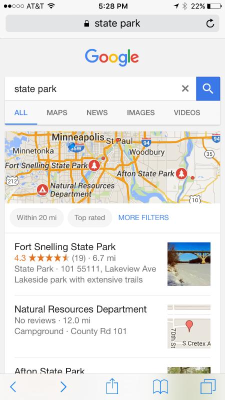 Minnesota State Park
