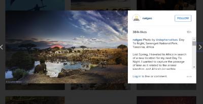 Nat Geo Instagram