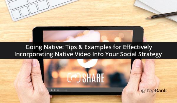 Native-Video-Social-Strategy