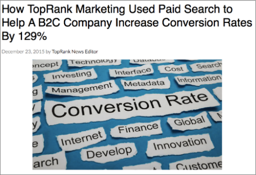Paid Search CRO