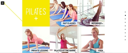 Mobile Content Example - Pilates