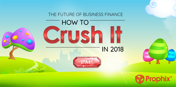 example of b2b marketing content with Prophix crush it