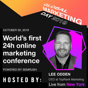 SEMrush Global Marketing Day 2019
