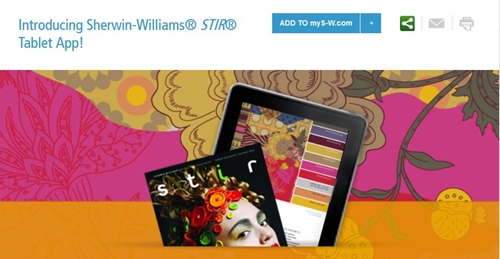 Interactive Tools from Sherwin Williams