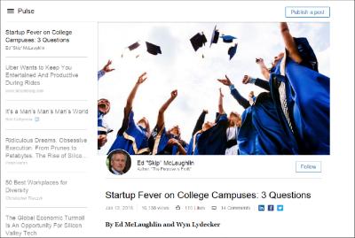 Skip McLaughlin LinkedIn Content