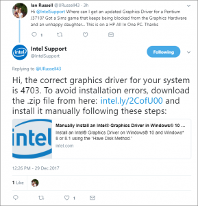 Intel Social Care Example