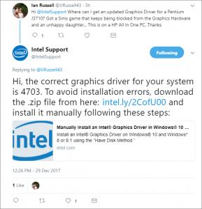 Intel Social Care Example