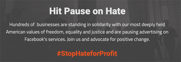 Stop Hate for Profit Image