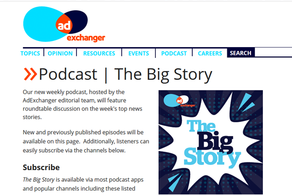 uncategorized-TheBigStory600w - 10 More Marketing Podcasts To Boost Your Business